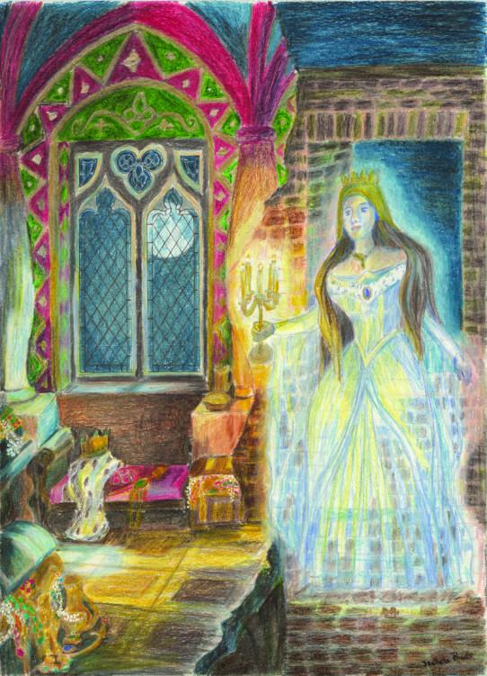 legenda duch bialej damy zamekcheciny
