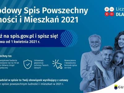 Narodowy Spis Powszechny 2021 rozpocznie się 1 kwietnia