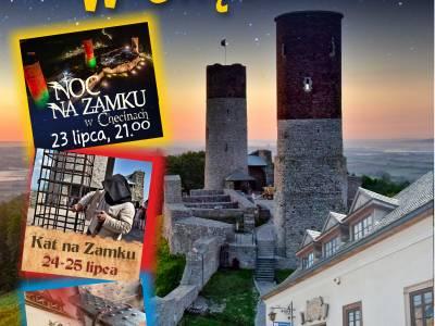 Weekend wrażeń na Zamku Królewskim w Chęcinach !