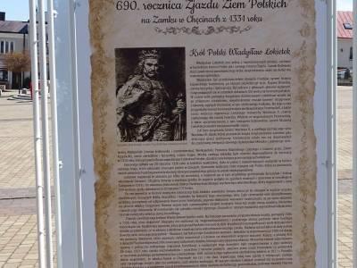 690. rocznica Zjazdu Ziem Polskich na Zamku wChęcinach z1331 roku
